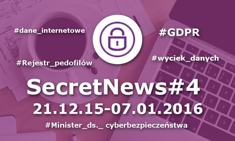 SecretNews #4 |21.12.15-07.01.2016